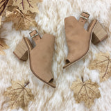 Chinese Laundry Caleb Leather Ankle Booties - Natural
