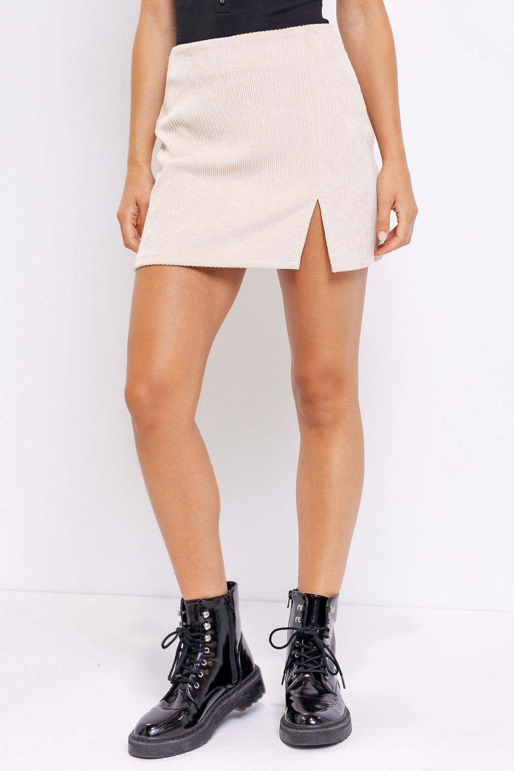 Steena Corduroy Mini Skirt