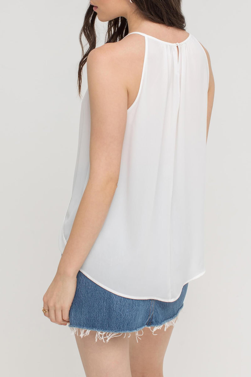 Kinsley Keyhole Sleeveless Top