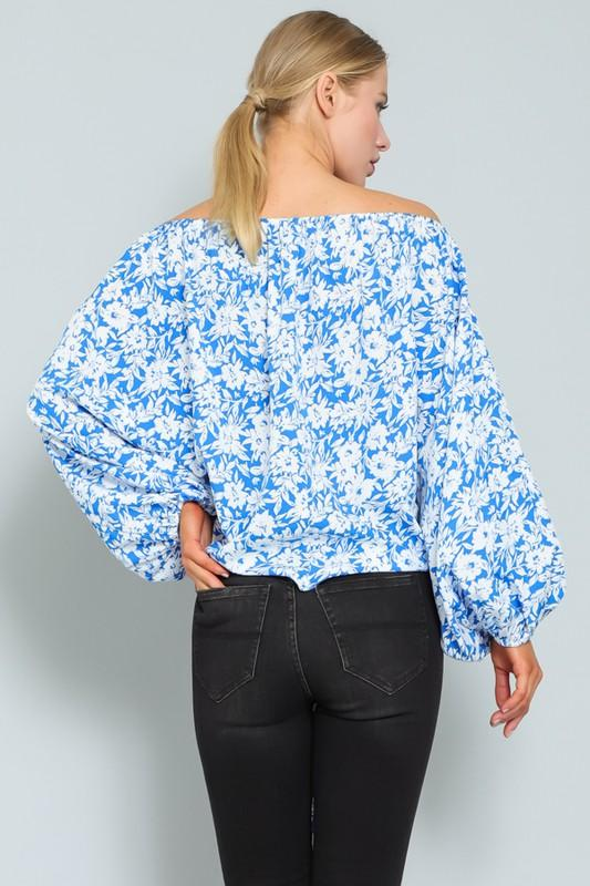 Valencia Off Shoulder Floral Top