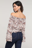Calero Off-Shoulder Floral Top