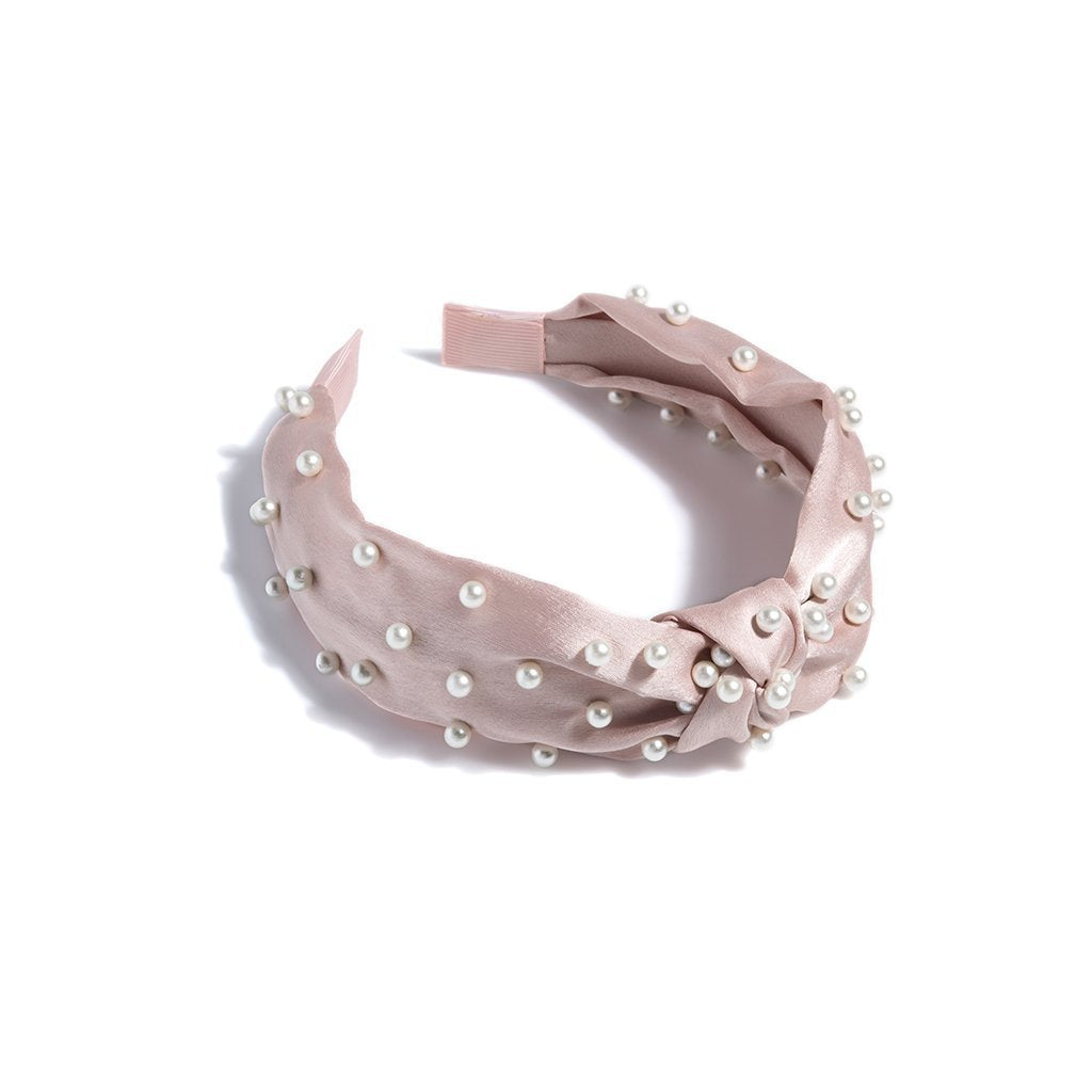 Pearl Headband - Blush