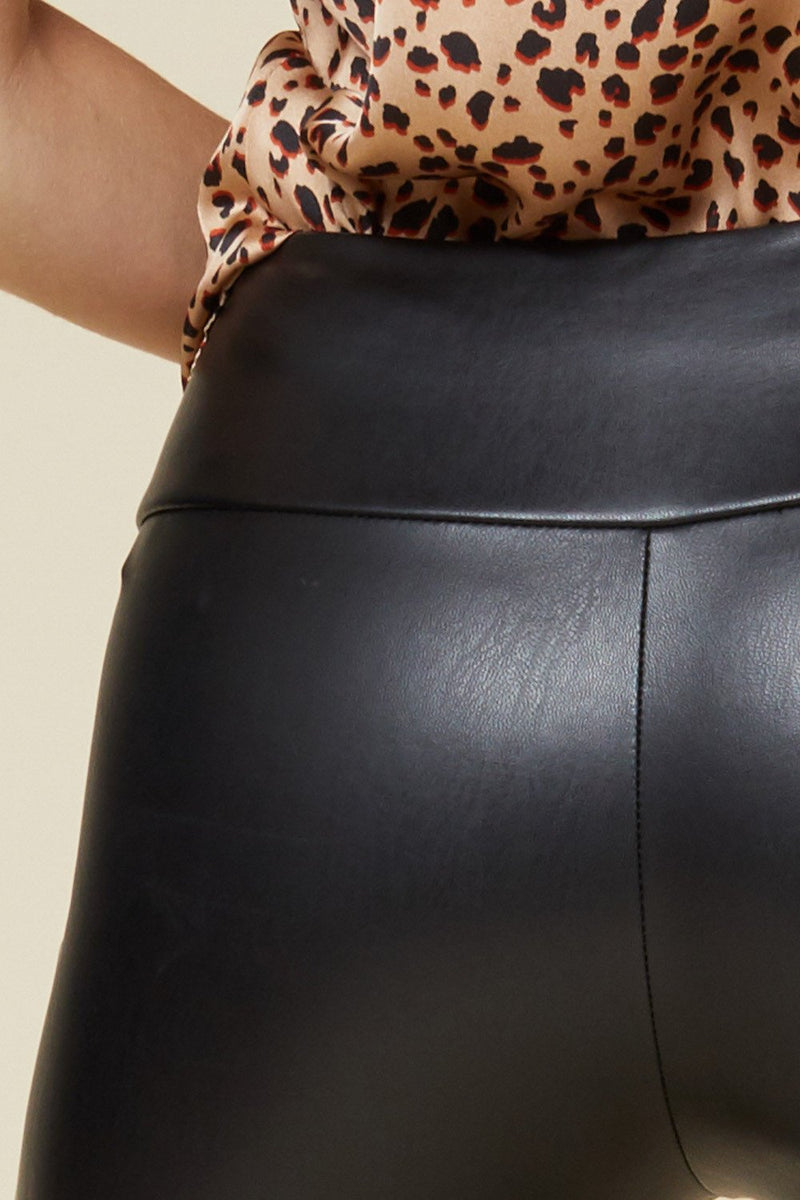 Aspen Faux Leather Leggings