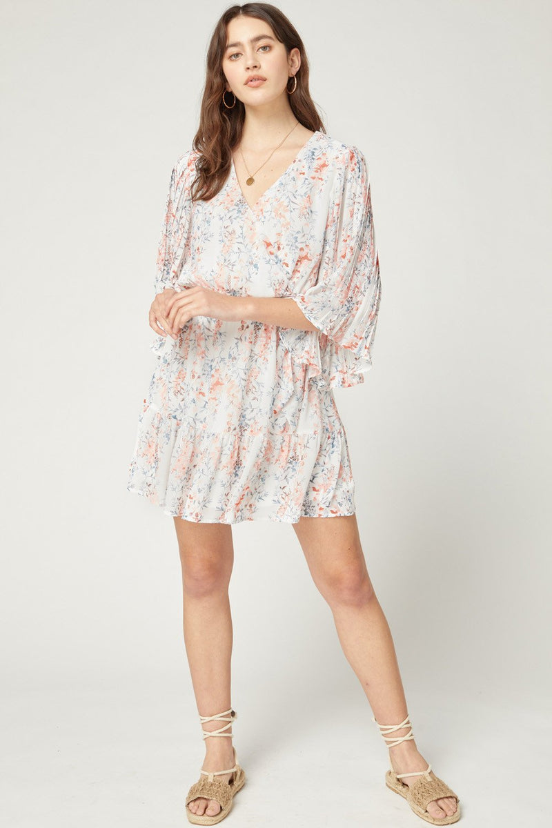 Aylin Floral Print Mini Dress