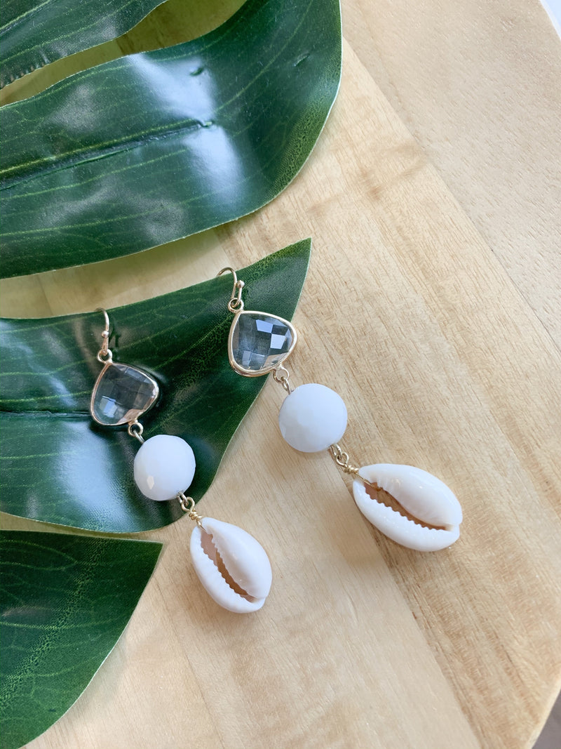 Las Olas Sea Shell Earring