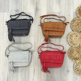 Take Me Along Tassel & Fringe Bag