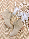 Chinese Laundry Saunter Western Bootie - Tan