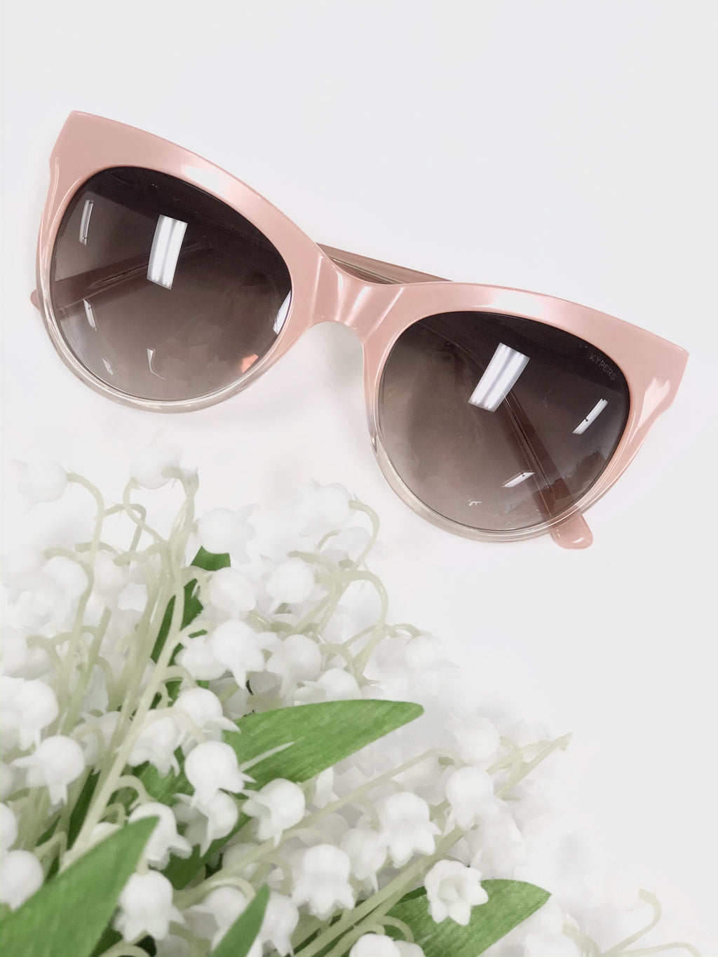 Sofia Cat Eye Sunglasses - Blush