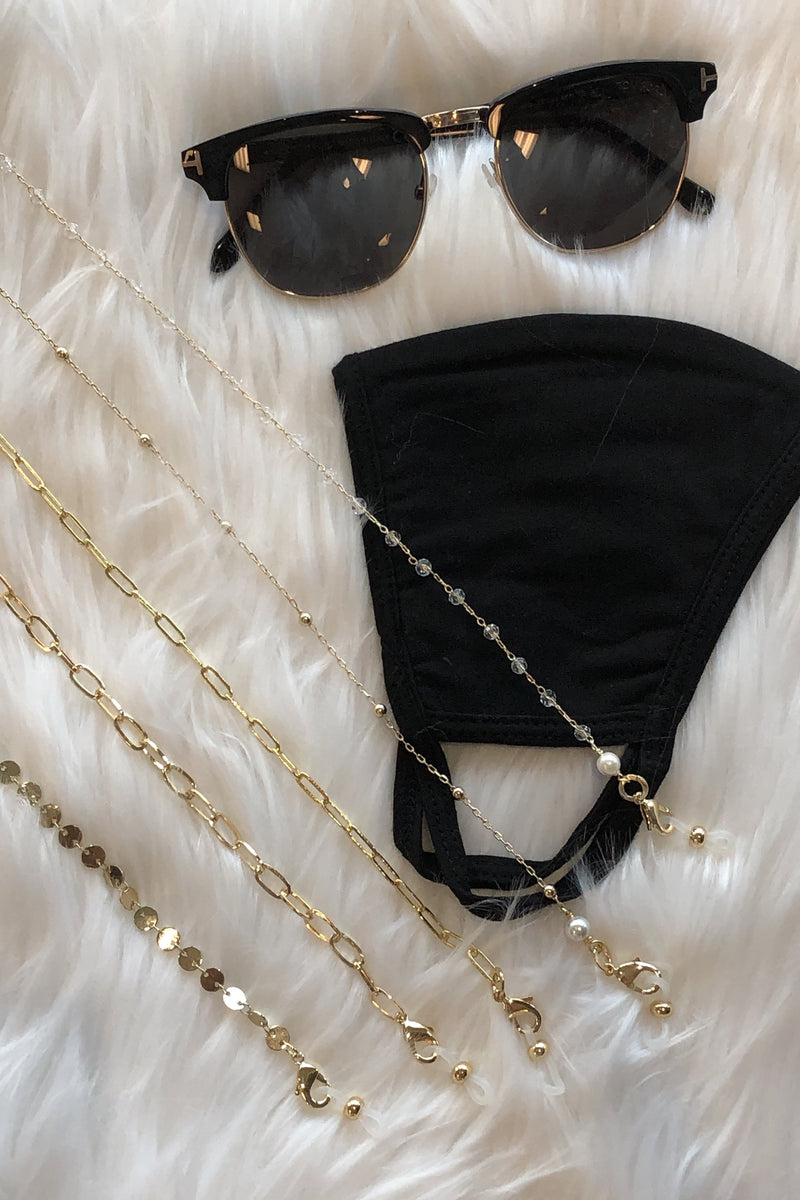 Bibi Mask / Sunglass Chain - Disc Link