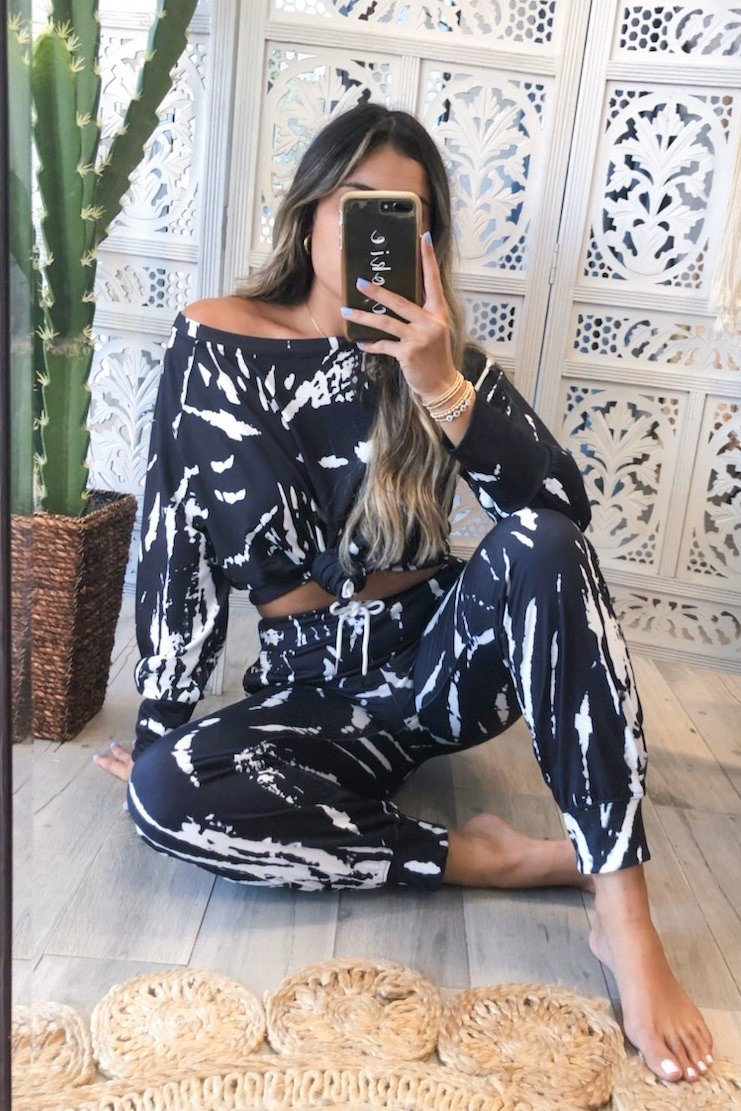 Ingrid Tie Dye Lounge Set