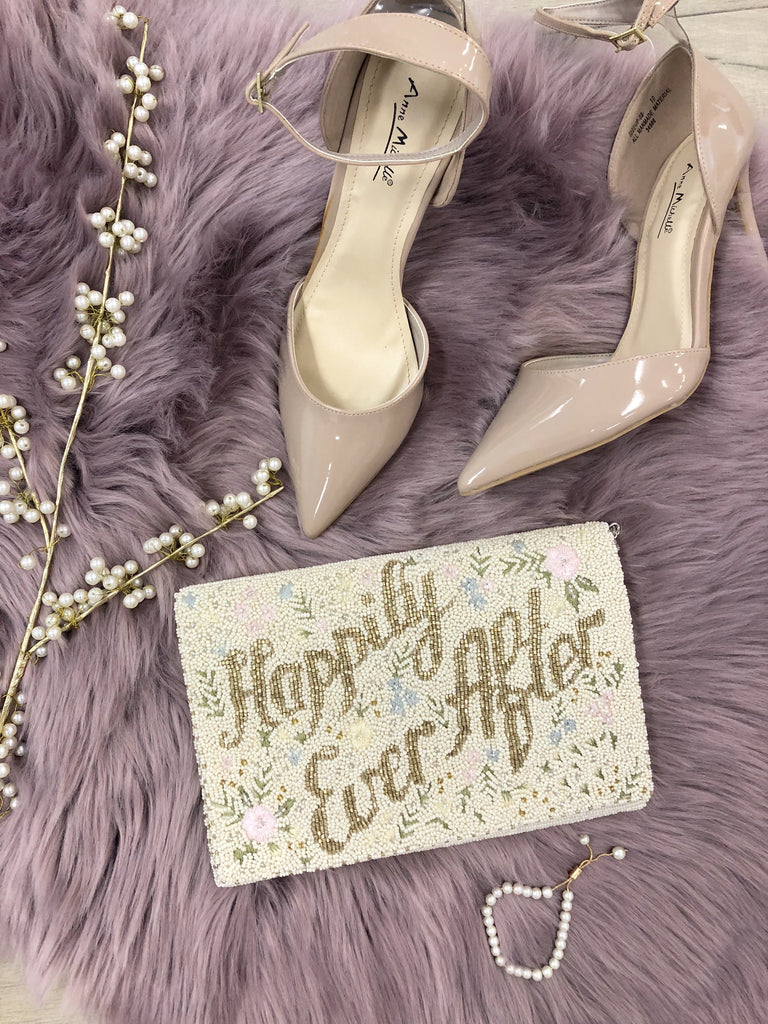 Happily Ever After Beaded Clutch