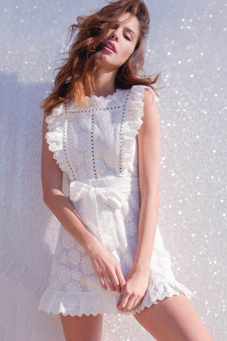 Sandy Lace & Eyelet Dress