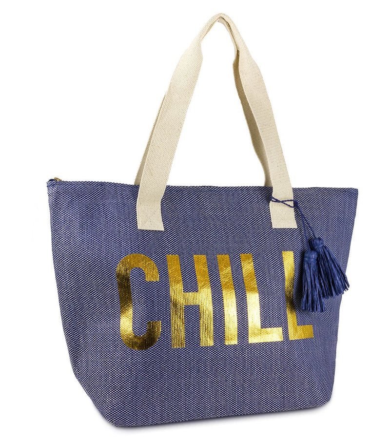 Chill Insulated Beach Tote