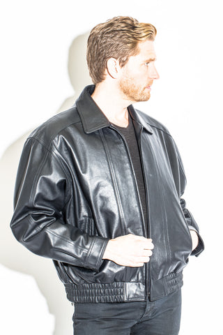 Men's Black Label Collection Blouson Longer Bomber