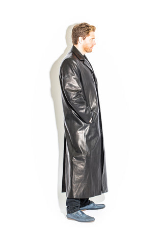 Men's Black Label Collection Full Length Duster