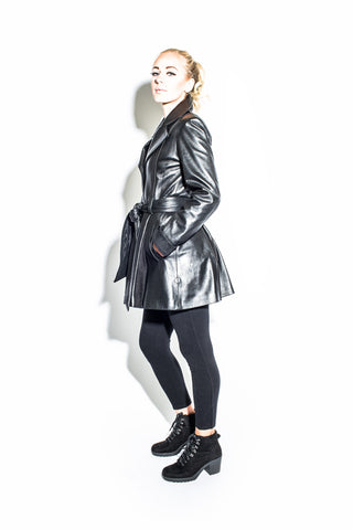 Women's English Belted Riding Coat