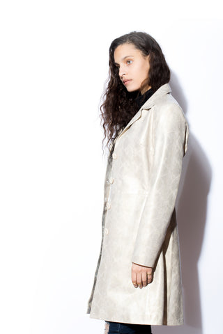 Women's West Coast Leather 7/8's Trench