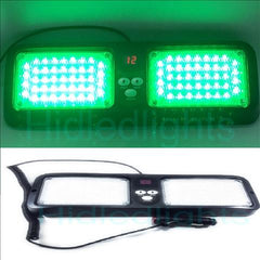 LED Visor Strobe lights for Emergency Firefighter Green Strobe lights