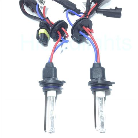 A Pair 35W 4300k High Quality Replacement Xenon HID Bulbs
