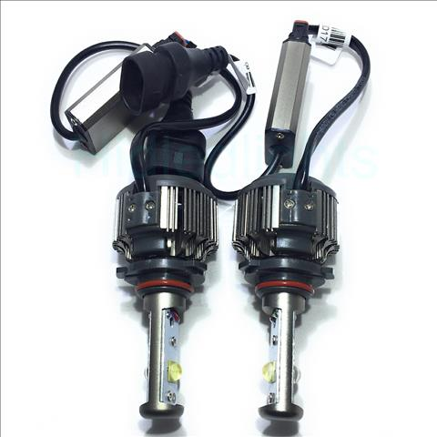 80w LED Headlight Kit with 8000Lum 6000k LED Fog lights