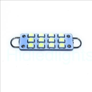 44mm White LED Festoon Rigid Loop Bulb