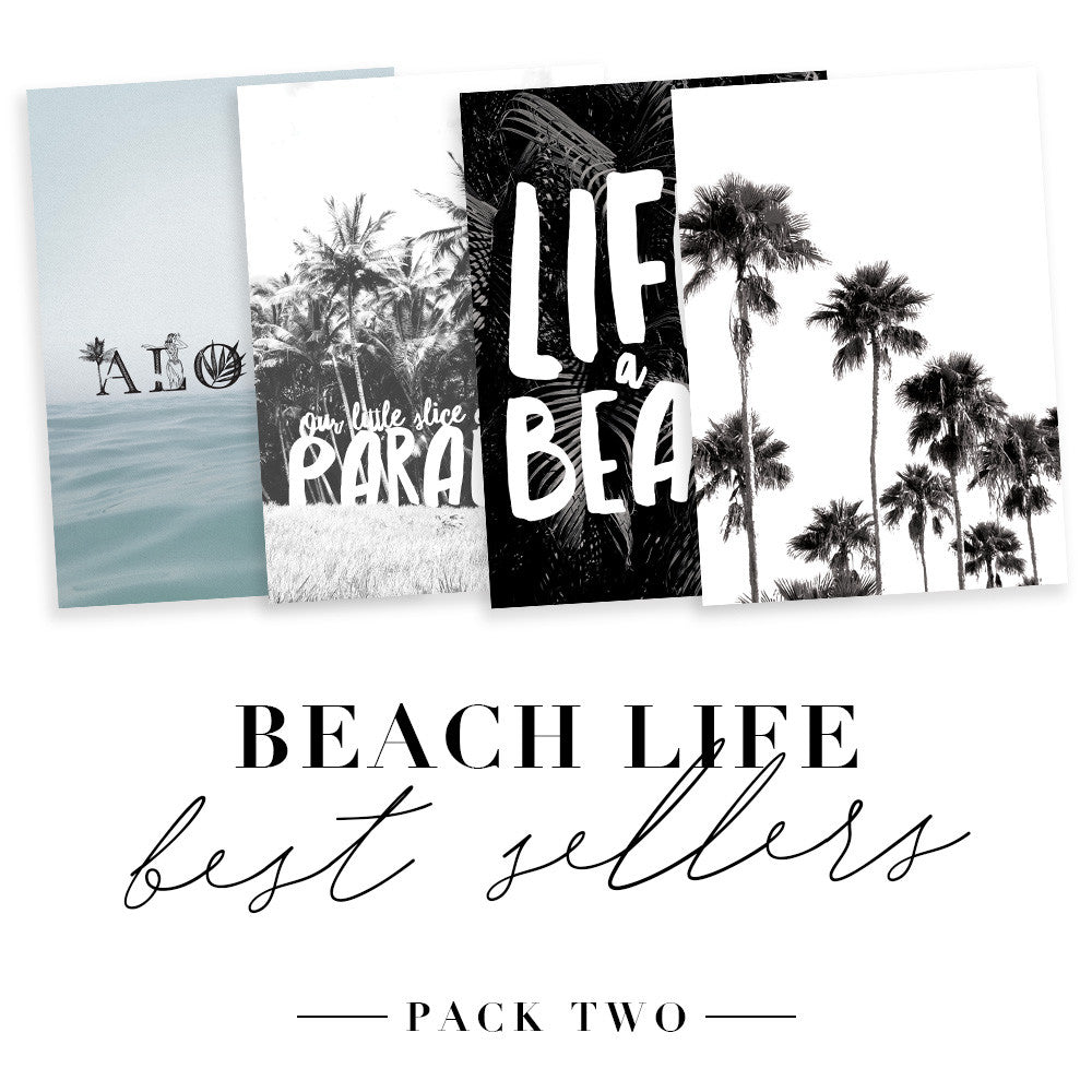 Print Pack Two - Beach Life Best Sellers