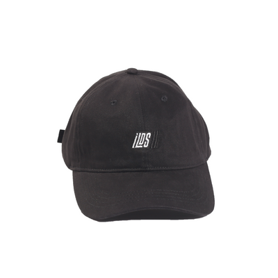 Black Racing Dad Cap