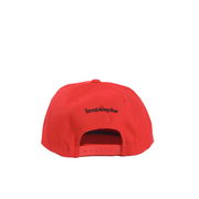 Red Racing Dad Cap