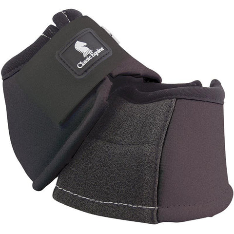 No Turn Horse Bell Boot W/Kevlar by Classic Equine