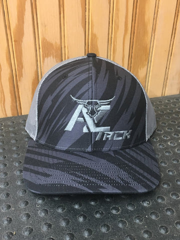 AZ Tack Mesh Back Richardson 112P STREAK BLACK/CHARCOAL Cap