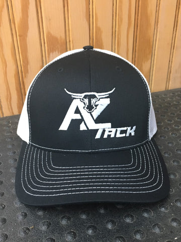 AZ Tack Mesh Back Richardson Cap Black/White