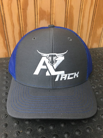 AZ Tack Mesh Back Richardson Cap Char/Royal