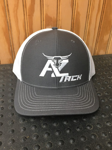 AZ Tack Mesh Back Richardson Cap Char/White