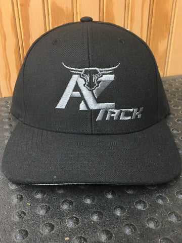 AZ Tack Solid Back Richardson Style514 Black/Char Cap