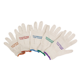 Classic Cotton Roping Glove 12 pk, White