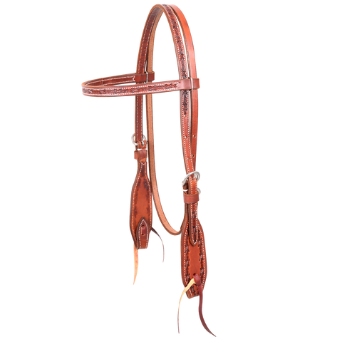 Barbwire Browband Headstall HC121SL