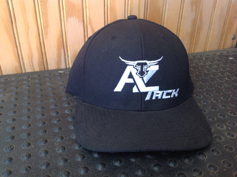 AZ Tack Solid Back Richardson Style514 Black/White Cap