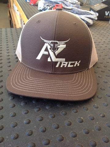 AZ Tack Mesh Richardson Cap Brown/Tan