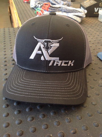 AZ Tack Mesh Back Richardson Cap Black/Charcoal