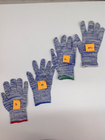SSG Blue Streak Flex Fit Gloves 24 Pack