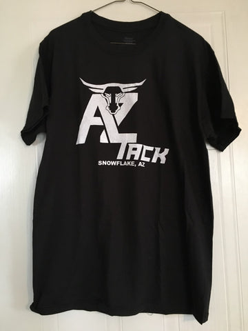 AZ Tack Youth T-Shirt Black/White