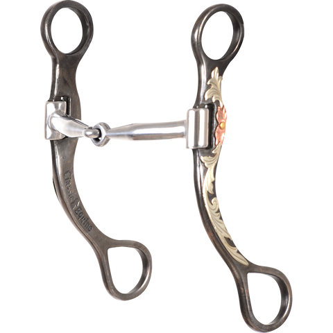 "Professional Series: 7-1/2"" Cheek Snaffle Bit TBBIT37SS20"