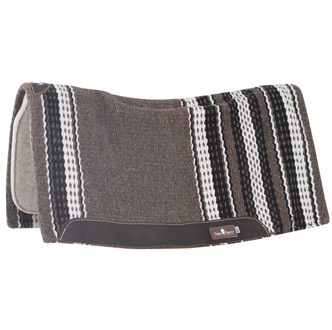 Zone Wool Top 1'' 34''x38'' Wool Pad by Classic Equine