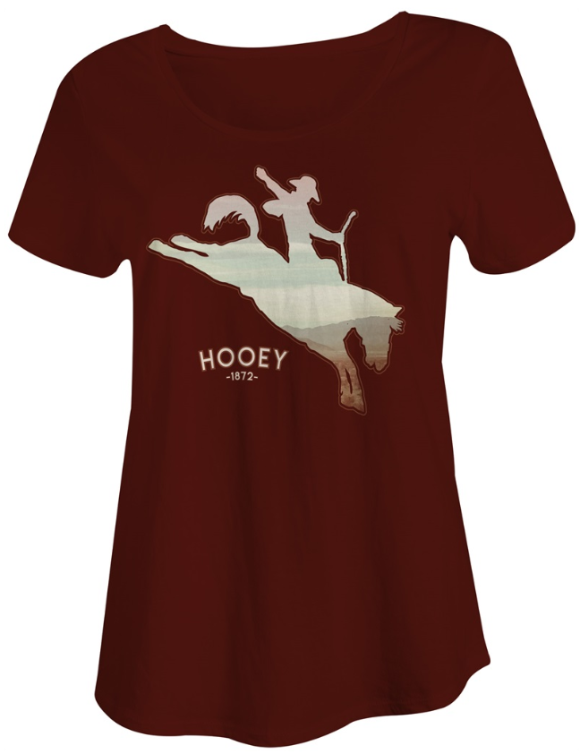 Hooey The SGT Youth Maroon T-Shirt