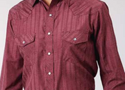 Roper Boys Karman Classic Shirt Wine