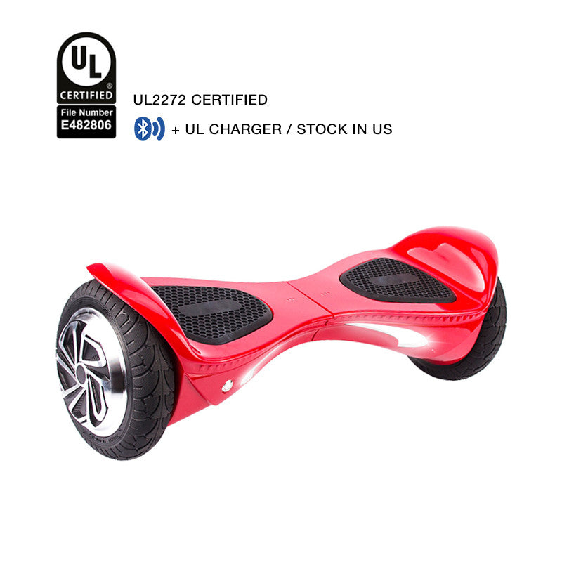 ul 2272 certified hoverboad red