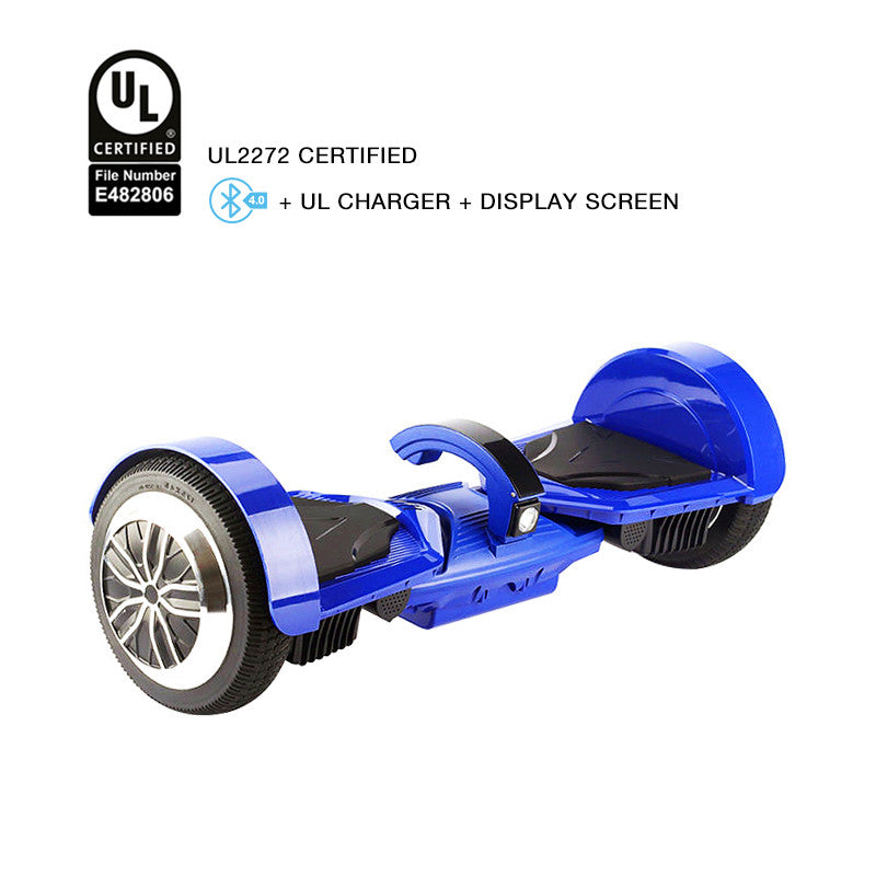 ul 2272 certified hoverboad blue