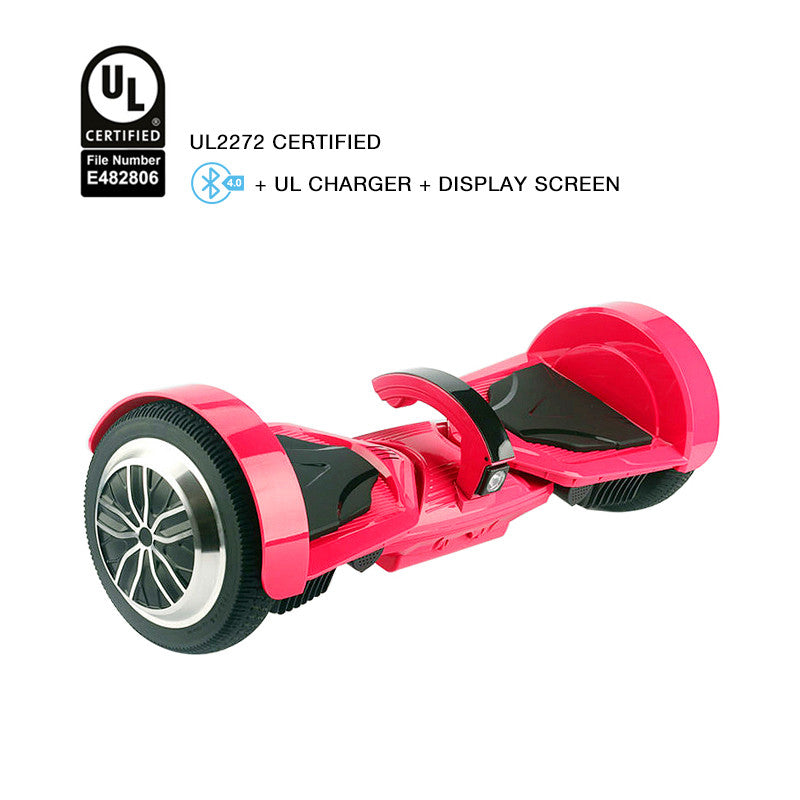ul 2272 certified hoverboad rose red