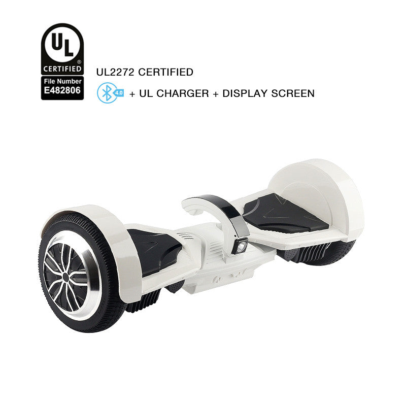 ul 2272 certified hoverboad white