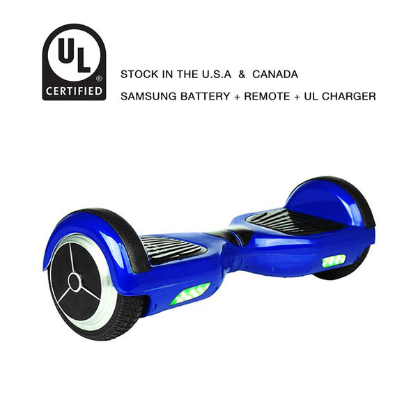 Classic Smart Balance Scooter 6.5 Inch Blue
